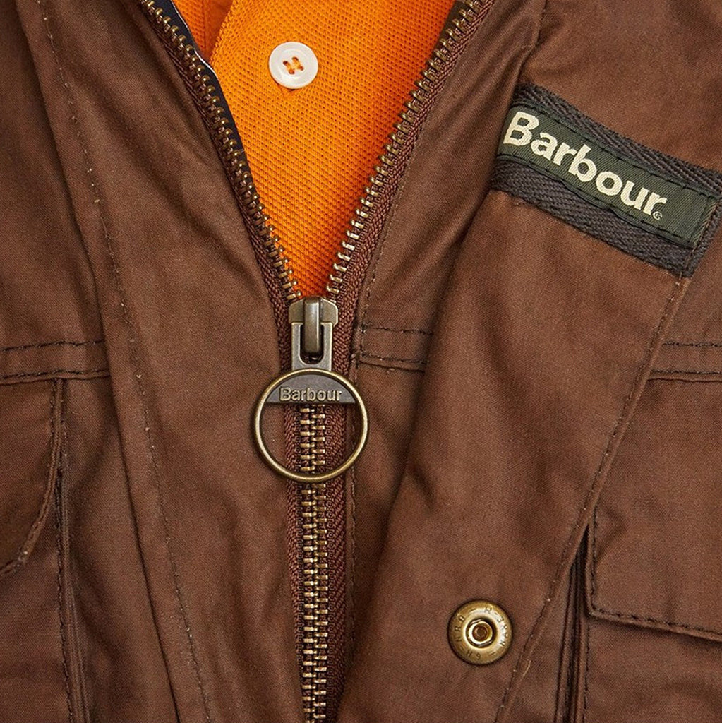 Buy Smyths Barbour New Utility Mens Wax Jacket In Bark