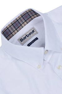 Barbour Shirt-Oxford Tailored Fit-White-MSH3230WH11 collar and cuffs