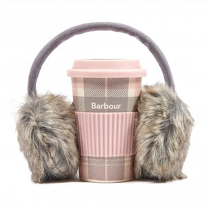Barbour Travel Mug and Earmuff Set-Gif tBox Set-Pink-LAC0217PI11