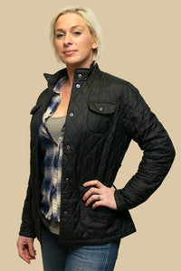 Barbour Ladies Utility -Quilted Jacket-Black £99-LQU0008BK91