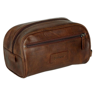 Barbour Washbag Leather- £54.50-Dark Brown Leather UBA0009BR71