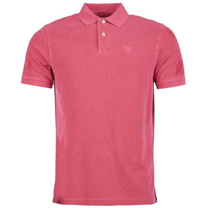 Barbour Polo Shirt-Washed Sports-Fuchia-MML0652PI72 Pink