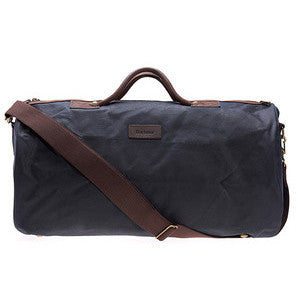 Barbour Wax Holdall in Navy UBA0017NY91