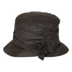 Barbour Wax Kirstie Lady's Hat in OLIVE LHA0309OL11