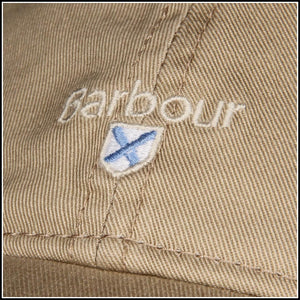 Barbour Cascade Sports Baseball Cap in Stone