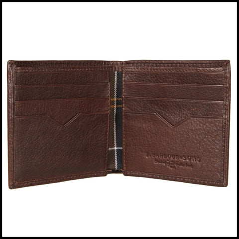 Barbour Wallet Brown Leather MAC0123BR511