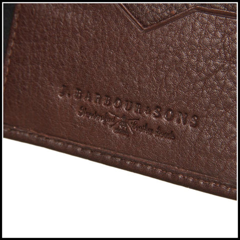 Barbour Wallet in Brown Leather