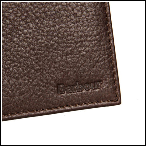 Barbour Wallet in dark Brown Leather MAC0123BR511