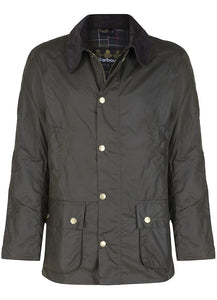 Barbour Ashby mens jacket in Olive green
