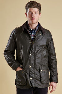 Barbour Ashby mens jacket in Olive MWX0339OL71