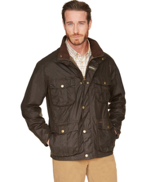 Barbour New Utility Wax Jacket in Olive MWX0827OL71