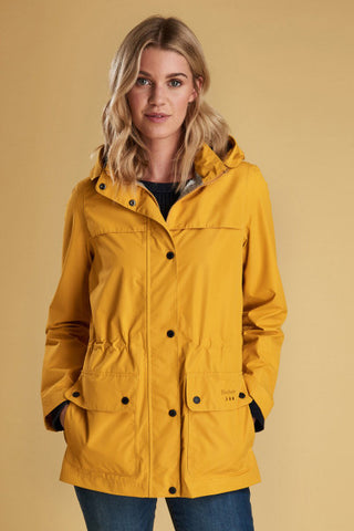Barbour Hawkins-New Ladies Waterproof-Yellow-LWB0454YE51