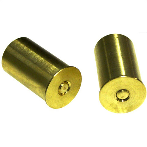 Bisley brass snap caps for 12 bore shotgun