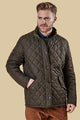 Barbour Chelsea Mens Sportsquilt Jacket in  Olive MQU0006OL51
