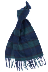 Barbour Scarf and Glove Gift Set-Navy Blackwatch Tartan-MAC0042NY91 scarf