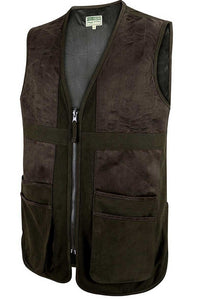 Hoggs of Fife-Gilet-Struther-Shooting Vest-Dark Green-Field Pro