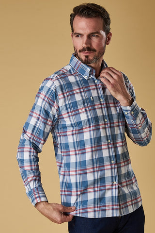 Barbour Shirt-Minster New Performance Shirt-Rich Red-MSH4443RE33