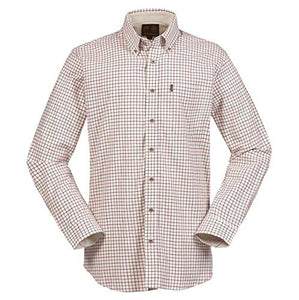 Musto Shirt-Classic Button Down Collar-Field Check Red-CS1640 shirt