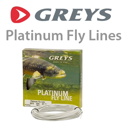 Greys Platinum Fly fishing line DT5F in Heron Grey 1326133