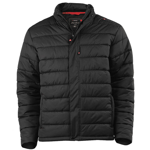 Greys Strata Quilted Jacket in BLACK