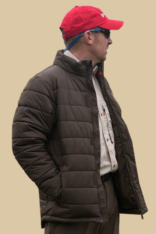 Greys Strata Quilted Jacket In Olive Brown 1325730 Smyths Country