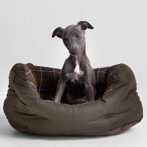 "Barbour Dog Bed-18"" Quilted-Classic Olive-UAC0120OL72"