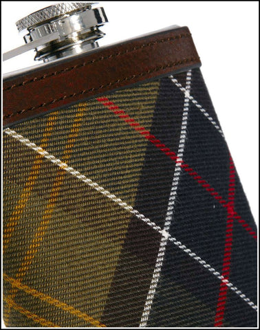 Barbour Hip Flask in Classic tartan UAC0007BR11