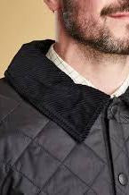Barbour Quilt-Liddesdale-Black-MQU0001BK91 collar