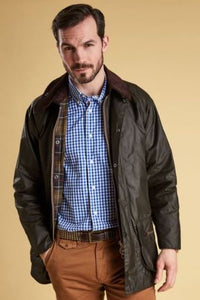 Barbour Beaufort-Classic Wax Jacket-Olive-MWX0002OL71 best seller