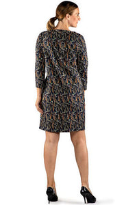 Barbour Dress-Exmoor-Navy-LDR0250NY73 legs
