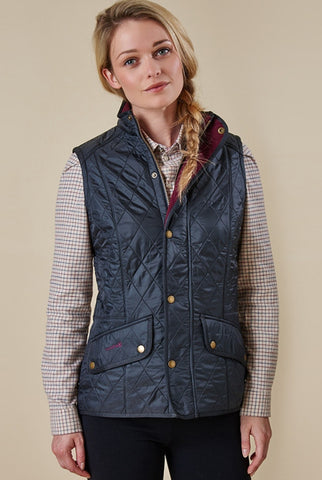 Cavalry Gilet in Navy Barbour at Smyths