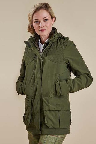 Barbour Women's Chapeldale Jacket in Olive LWB0307OL51