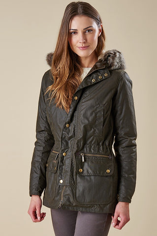 Kelsall in Olive Barbour at Smyths