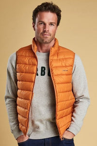 Barbour Bretby-Gilet-Orange Marmalade-MGI0024OR51