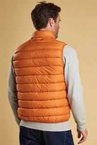 Barbour Bretby-Gilet-Orange Marmalade-MGI0024OR51 back