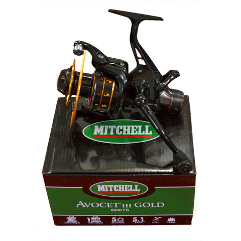 MITCHELL AVOCET GOLD 3 FREESPOOL 6000 FS FISHING SPINNING REEL 1262677