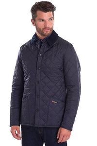 Barbour Heritage-Liddesdale-Quilted Jacket-Navy-MQU0240NY92