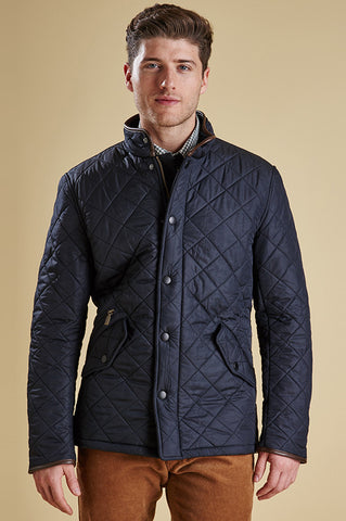 Barbour Powell Mens Quilted Jacket in Navy MQU0281NY71