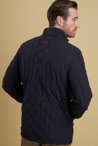 Barbour Shoveler Quilt- Dark NAVY- MQU0784NY91 back