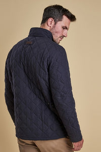 Barbour Shoveler Quilt- Dark NAVY- MQU0784NY91 sleeve