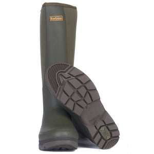 Barbour Boot-Cyclone-Wellington-Olive MRF0023OL11 sole
