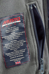 Musto Snug Blouson Jacket-True Navy/Cinder-MJ11009 security