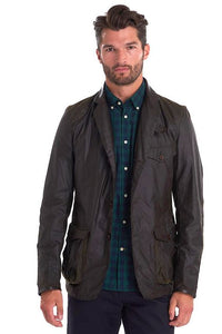 Barbour Beacon-James Bond-Wax Sports Jacket-Olive-MWX0007OL71 007