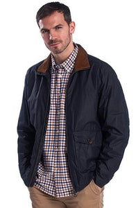 Barbour Clapton-Mens LW Wax jacket-Navy-MWX1632NY51