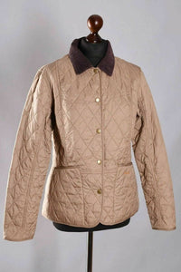 Barbour Summer Liddesdale-ladies Quilt Jacket-Mink/Brown-LQU0236BE52