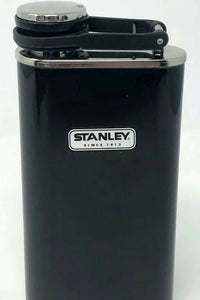 Stanley-Hip Flask-8 oz-Easy Fill-Wide Mouth-Classic Series-Black-10-00837-127