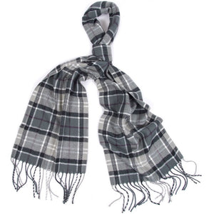 Barbour Scarf and Knitted Glove-Giftset-Grey/Black-LAC0192GY71 scarf