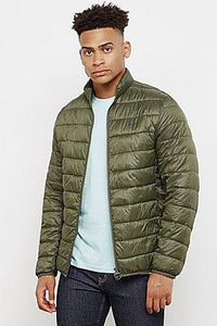 Barbour Penton Quiled Jacket-Olive-MQU0995GN51 cool
