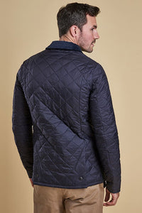 Barbour Heritage-Liddesdale-Quilted Jacket-Navy-MQU0240NY92 back