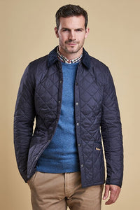 Barbour Heritage-Liddesdale-Quilted Jacket-Navy-MQU0240NY92 length